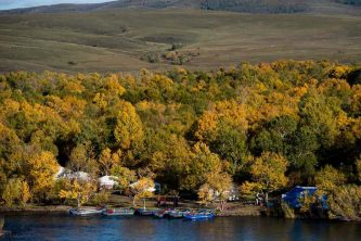 fly fishing ger camps mongolia