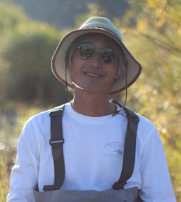 Peter has been the head guide at Mongolia River Outfitters for more than a decade. His stories and photographs have appeared in American Angler, Fly Fisherman, Fly Rod