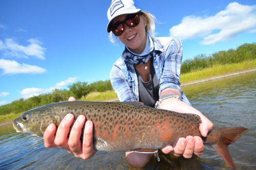 Mongolia Lenok Fly Fishing