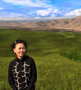 Manduhai is owner, cofounder and managing director. Raised in a family of academics, she studied economics at Moscow University.  A highly respected member of Mongolia's business community, she has thirty-years experience running successful tourism adventures.  Manduhai is the quiet engine behind these operations.  She's out on a river every chance she gets.