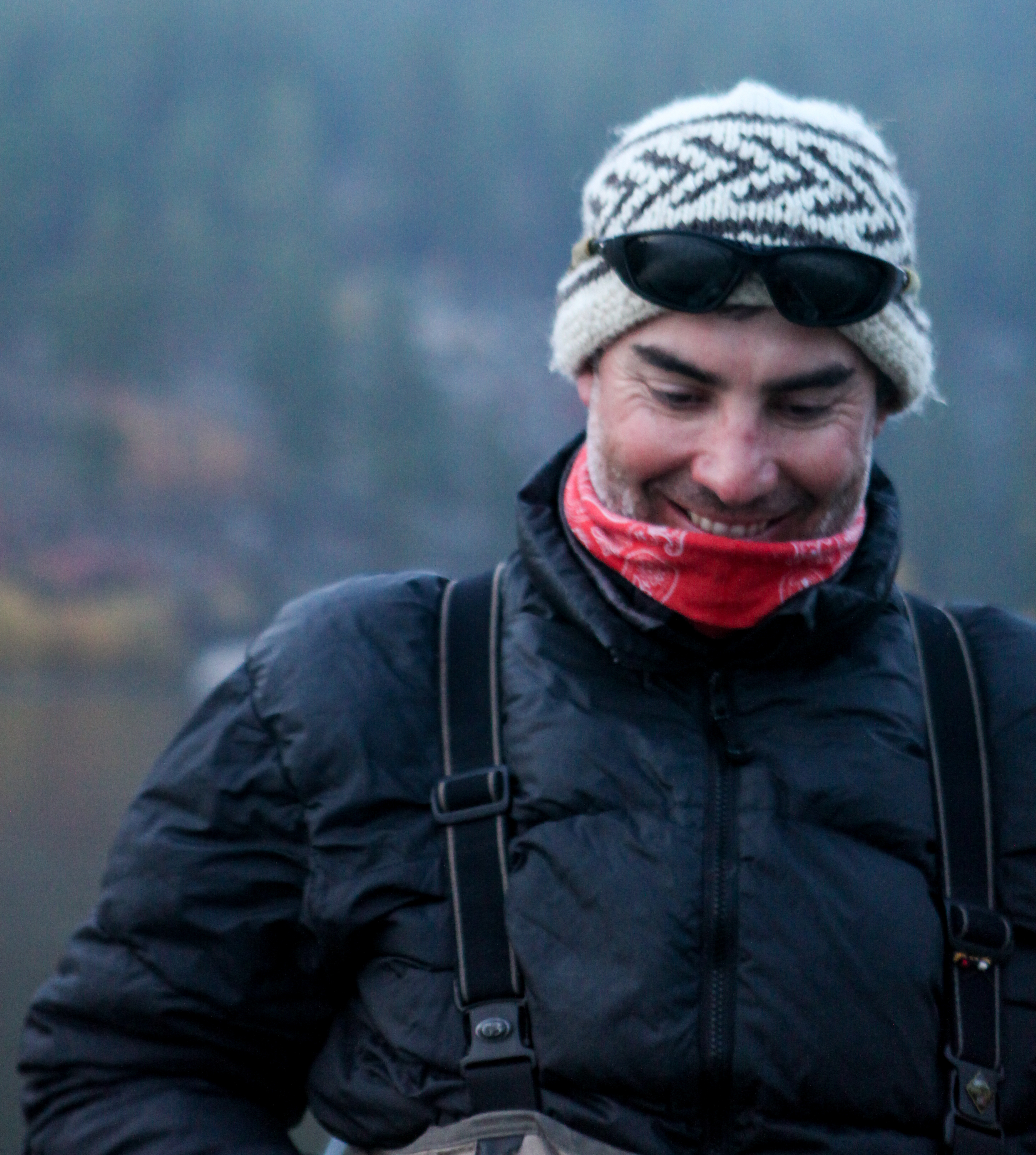 Daniel is an artist... creating music with a fly-rod or classical guitar. Daniel has guided for over twenty-years, with over fifteen seasons on Mongolia's rivers.  Whitewater kayaker and backcountry expert, he's climbed some of South America's most remote peaks.